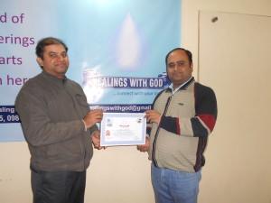 healings with god vinay kumar bhasin